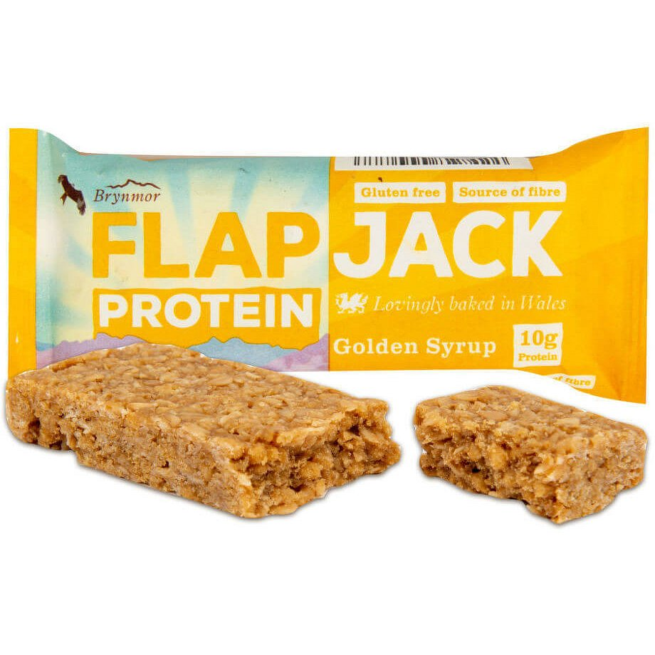 Wholebake Flapjack ovesný protein zlatý sirup bezlepkový 52g