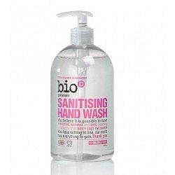 Bio d Tekuté dezinfekční mýdlo na ruce pelargónie pumpička 500 ml