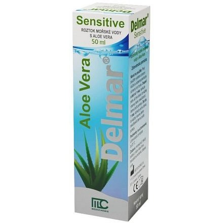 Delmar Sensitive nosní sprej 50ml
