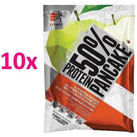 Proteinové palačinky 50 % 10 x 50 g jablko skořice