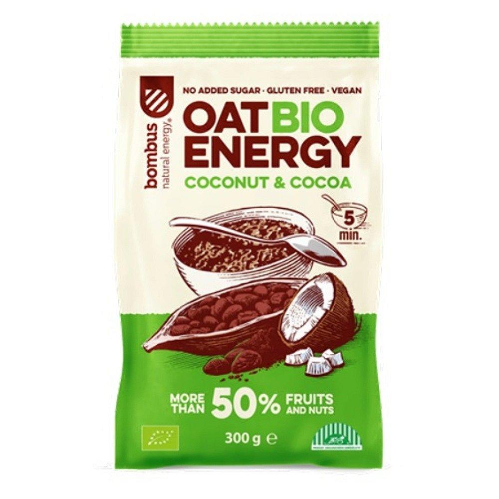 BOMBUS Oat energy coconut & cocoa ovesná kaše 65 g BIO