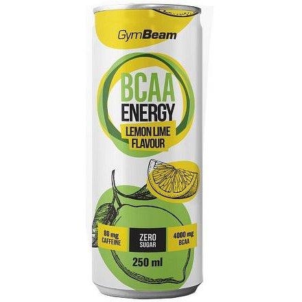 Gymbeam BCAA Energy drink 250 ml lemon lime