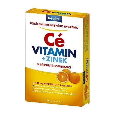 Revital Vitamin C+zinek tablety 30