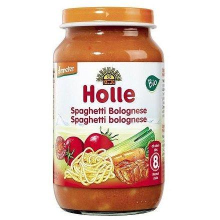 Holle bio dětská přesnídávka Spaghetti Bolognese