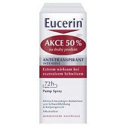 Eucerin Deo Intenzivní sprej duopack 2x30 ml