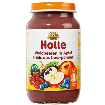 Holle bio dětská přesnídávka Lesní plody v jablku