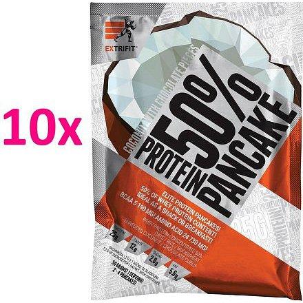 Proteinové palačinky 50 % 10 x 50 g kokos čokoláda