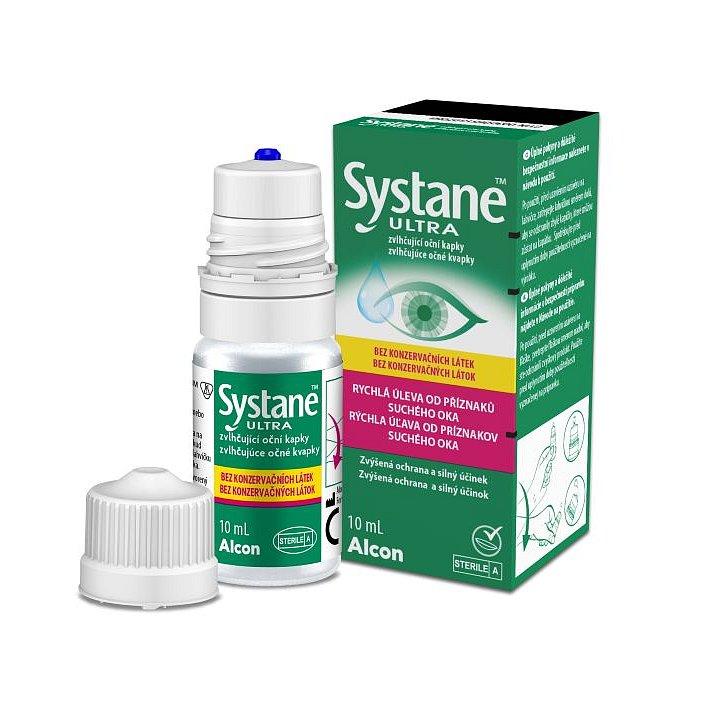 Systane ULTRA Zvlhčující oční kapky bez konzervačních látek 10 ml