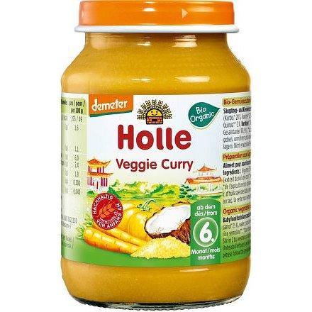 Holle bio dětská přesnídávka Vegetariánské kari