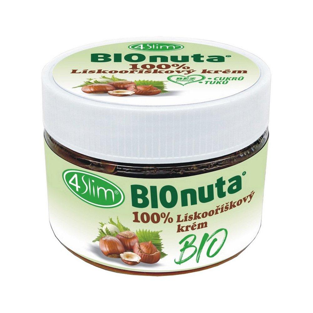4SLIM Bionuta 100% lískooříškový krém 250 g BIO