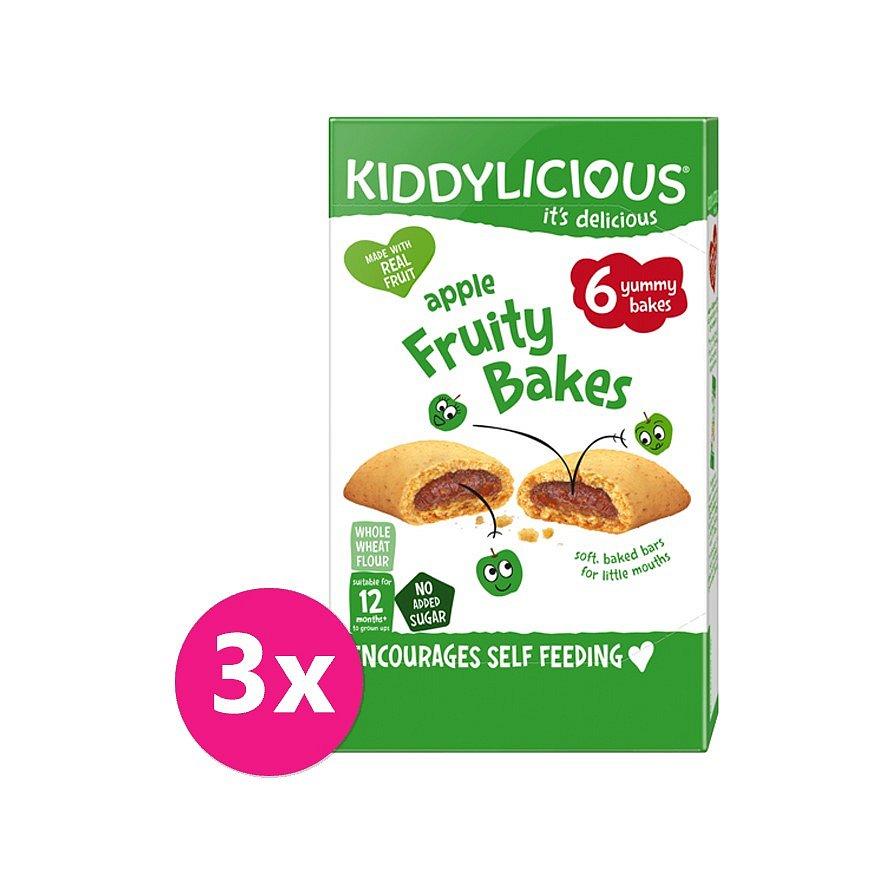 3 x KIDDYLICIOUS Koláčky jablečné