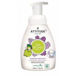 ATTITUDE Little leaves Dětské pěnivé mýdlo na ruce vanilka hruška 295 ml