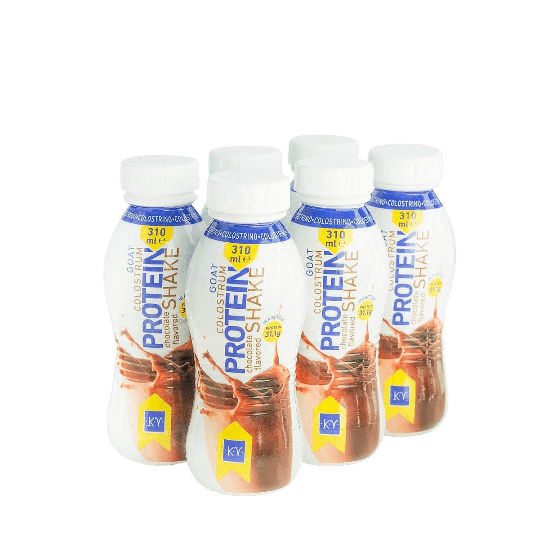 Colostrino Proteinový shake s kozím kolostrem a čokoládovou příchutí 6x310ml