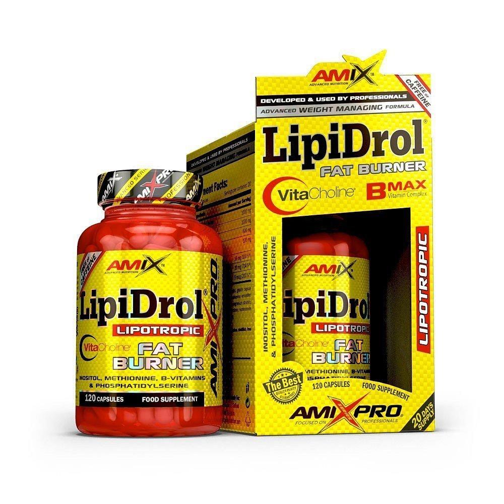 LipiDrol Fat Burner 120 kapslí