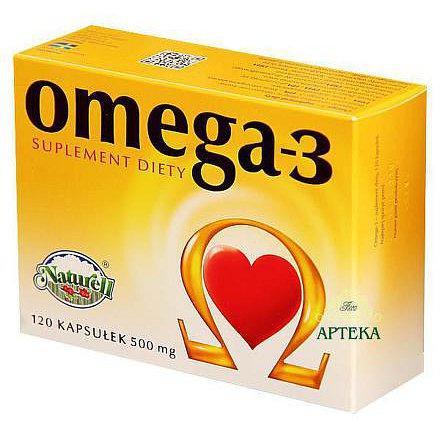 Omega- 3 orální tobolky 120 Naturell