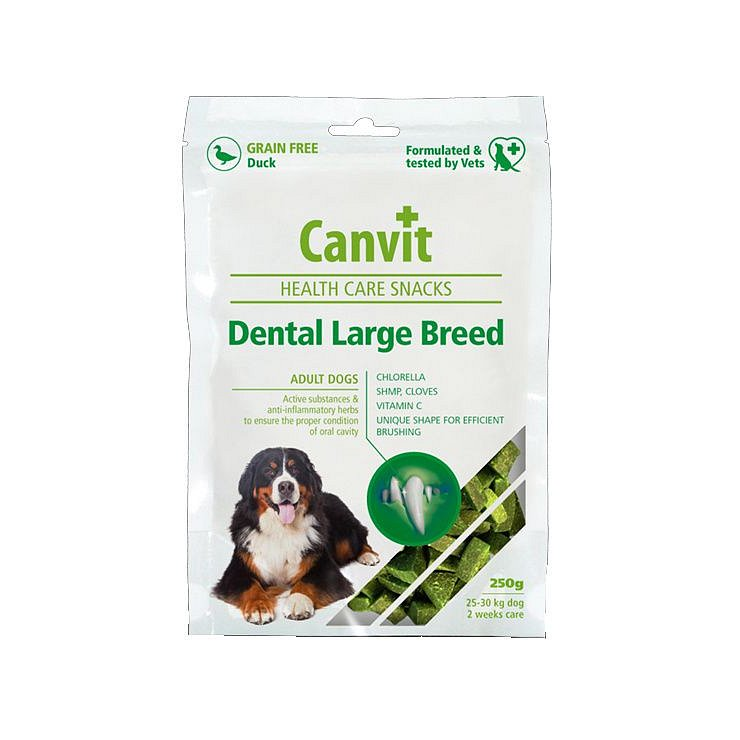 Canvit Snacks Dental Large Breed pro psy 250 g