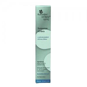 Koloidní stříbro sprej 50ppm 25ml