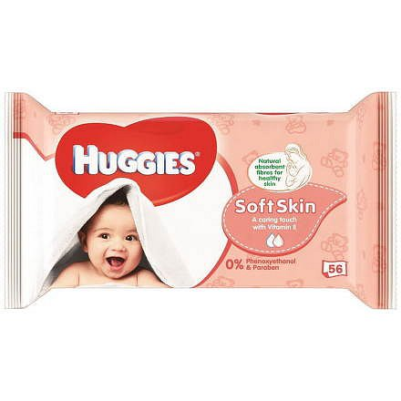 HUGGIES Soft Skin Single (56)