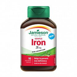 Jamieson Železo 28 mg 90 kapslí