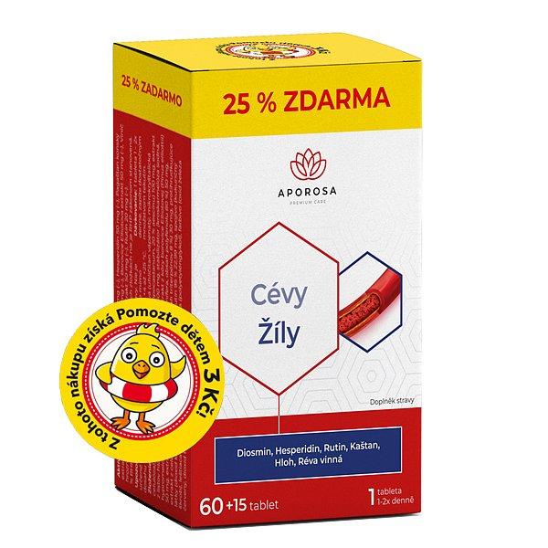 APOROSA Cévy Žíly 75 tablet