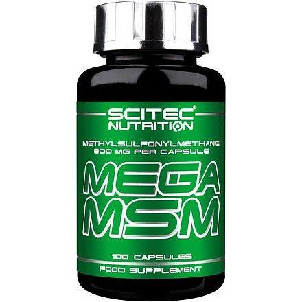 SciTec Nutrition Mega MSM 100 kapslí