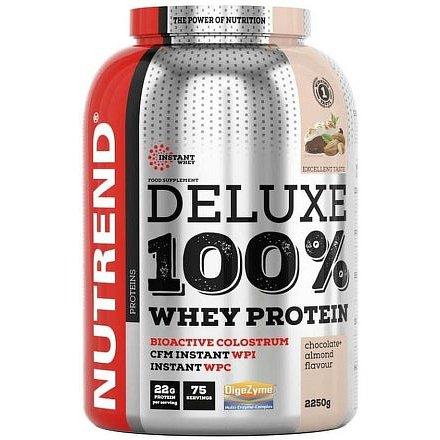 DELUXE 100% WHEY 2250 g čokoláda+lískový ořech