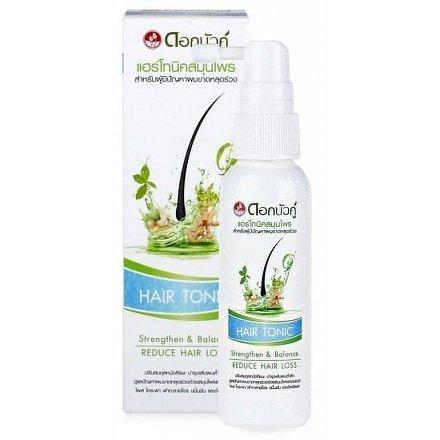 Twin Lotus Natural Herbal Active Hair Tonic – přírodní bylinné vlasové tonikum 60ml
