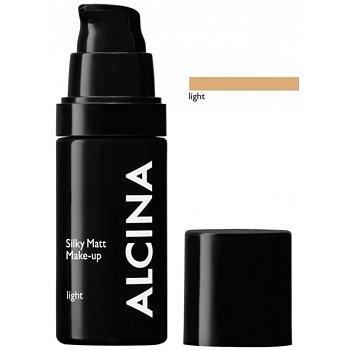 Alcina Decorative Silky Matt make-up s pudrovým efektem odstín Light 30 ml