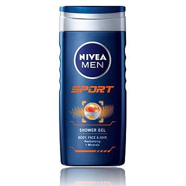 NIVEA Sprchový gel muži SPORT 250ml č.81078