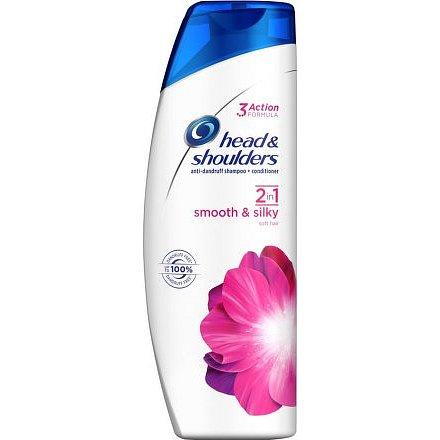 Head & Shoulders šampón 2v1 Smooth & Silky 360ml