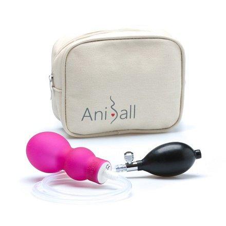 Aniball pro těhotné - tmavě růžová