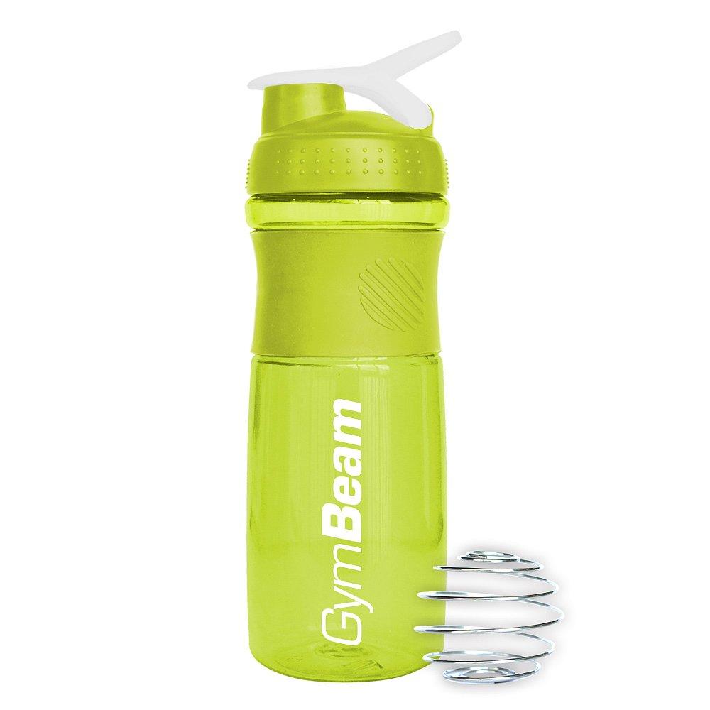 Gymbeam Šejkr Sportmixer zeleno-bílý 760ml