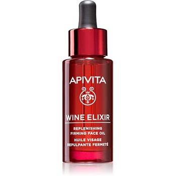 Apivita Wine Elixir Grape Seed Oil protivráskový pleťový olej se zpevňujícím účinkem 30 ml