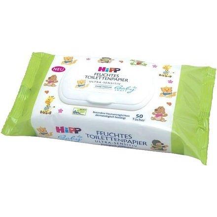HiPP BABYSANFT Vlhčený toaletní papír ULTRA SENSITIVE 50ks