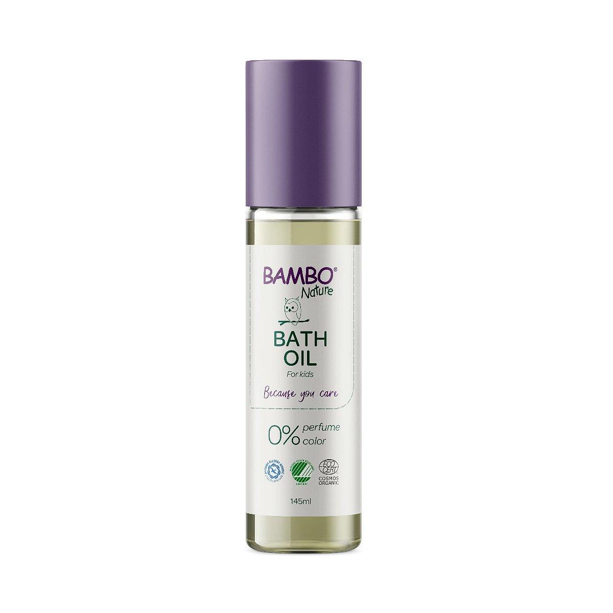 Bambo Nature Tělový olej po koupeli neparfémovaný 145 ml