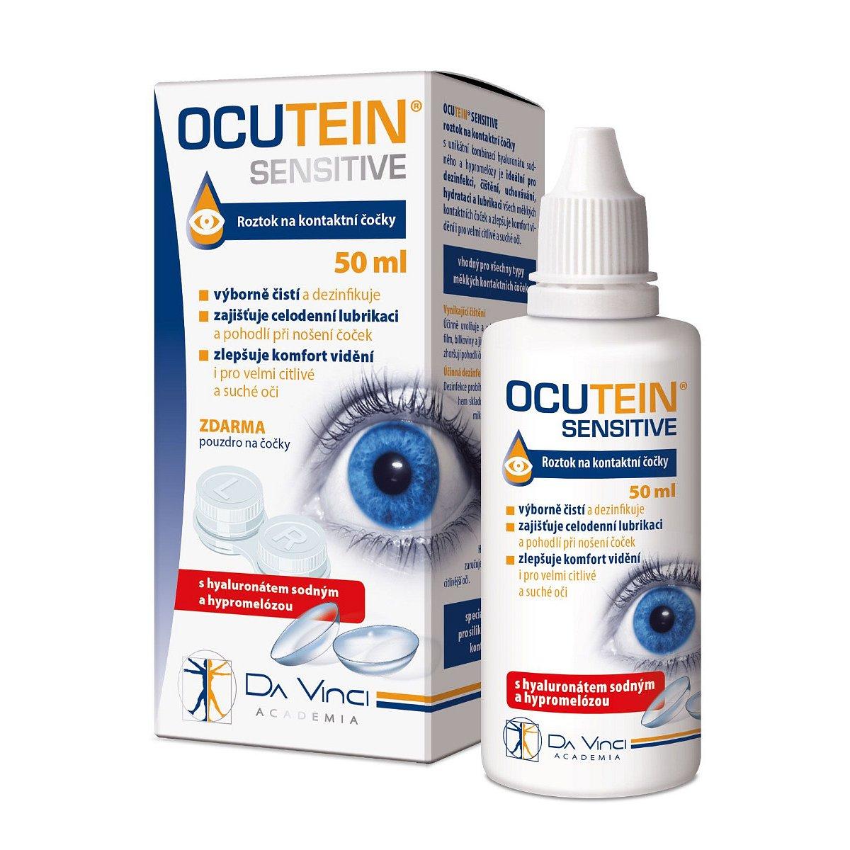 Ocutein SENSITIVE roztok na kontaktní čočky 50 ml