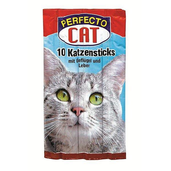 Perfecto Cat Jerkys drůbeží+játra 10ks