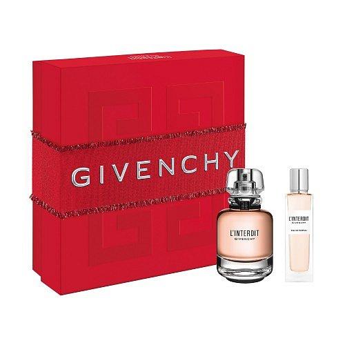Givenchy Christmas Set L'Interdit dárková kazeta EdP 50 ml + 15 ml