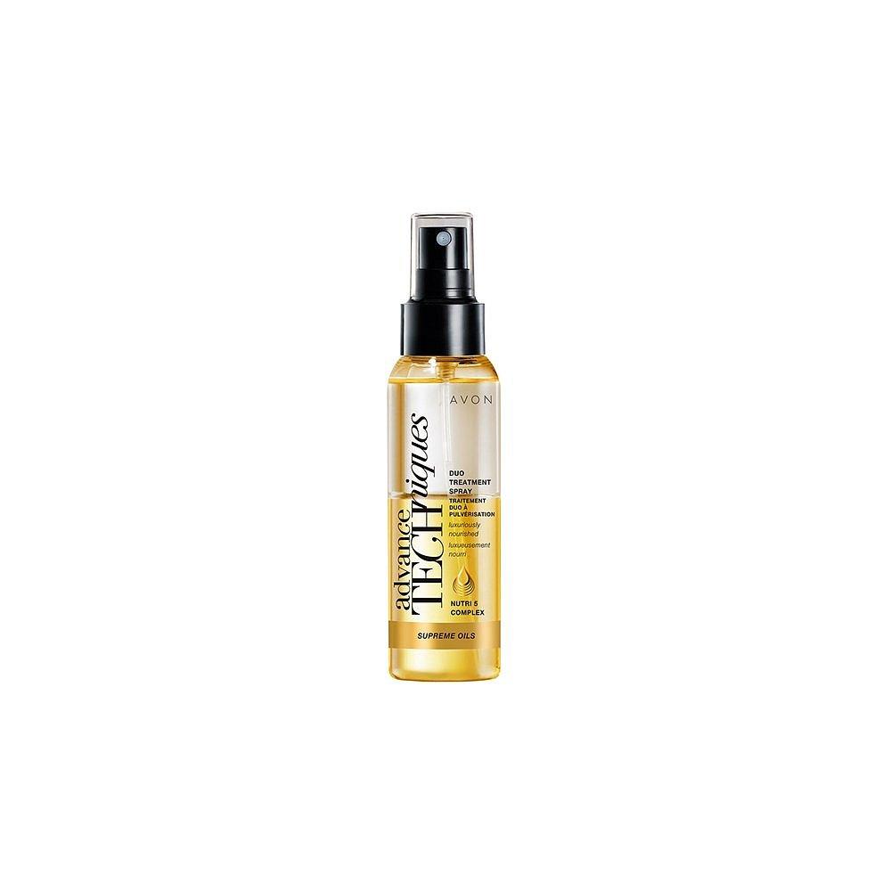 AVON Advance Techniques duální sprej s luxusními oleji pro všechny typy vlasů 100 ml