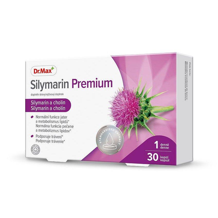 Dr.Max Silymarin Premium 30 kapslí