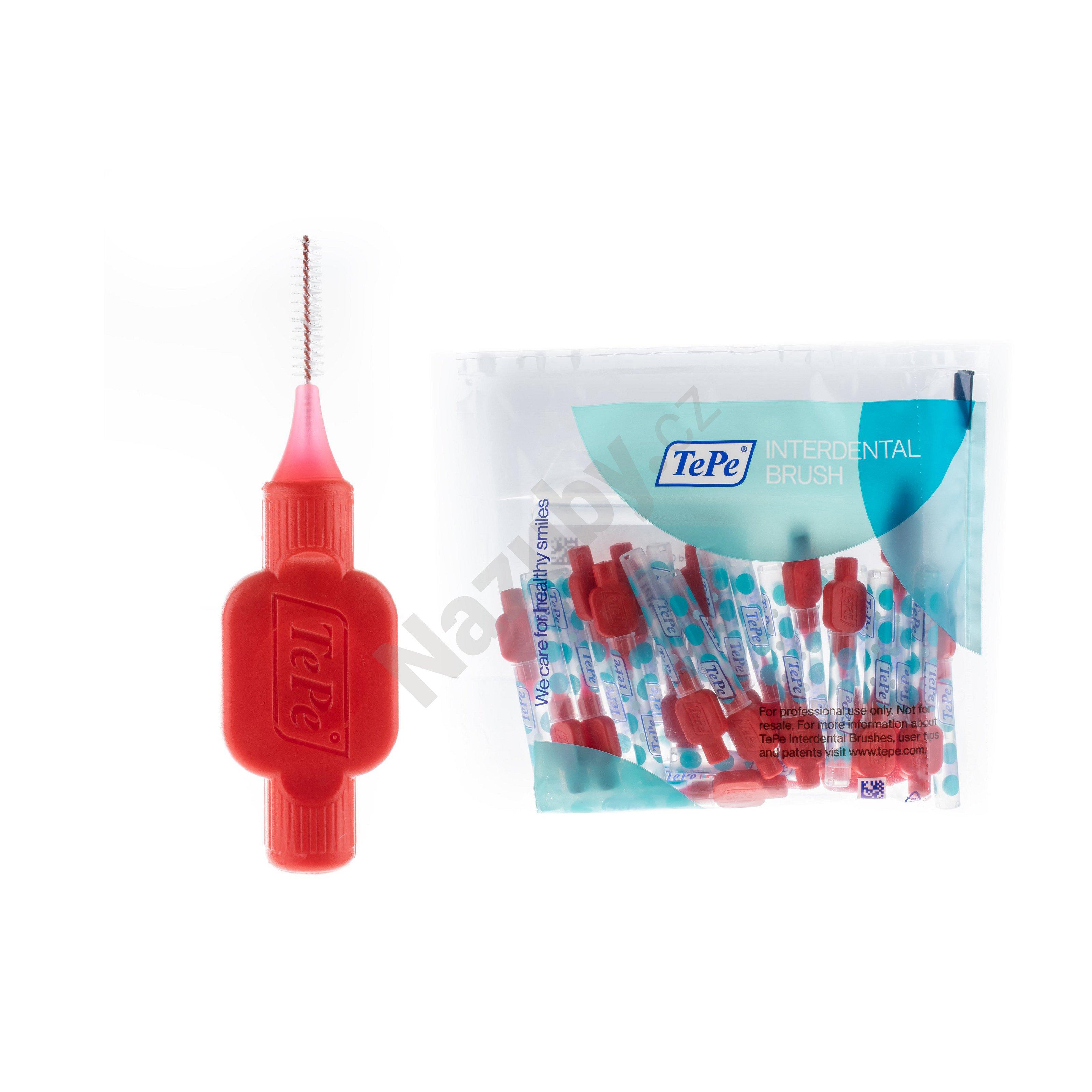 TePe MK Original G2 0,5 mm mezizubní kartáčky červené 25 ks