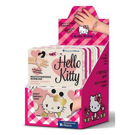 Vieste Multivitamin Hello Kitty+tet.box tbl.12x12