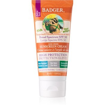 Badger Sun dětský krém na opalování SPF 30  87 ml