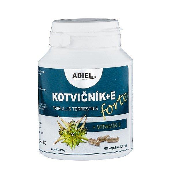 Adiel Kotvičník zemní FORTE s vitamínem E cps.90
