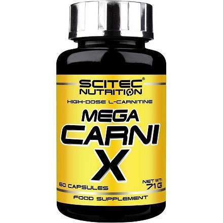 SciTec Nutrition Mega Carni-X 60 kapslí