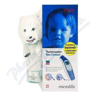 Microlife Teploměr NC100 digit.bezkontaktní + dárek plyšový medvídek