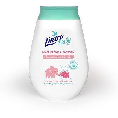 Dětské mycí mléko a šampon 250ml LINTEO BABY