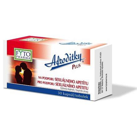 Afroditky Plus tobolky pro sexualní apetit 30 cps