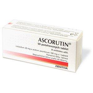 Ascorutin tablety potažené 50