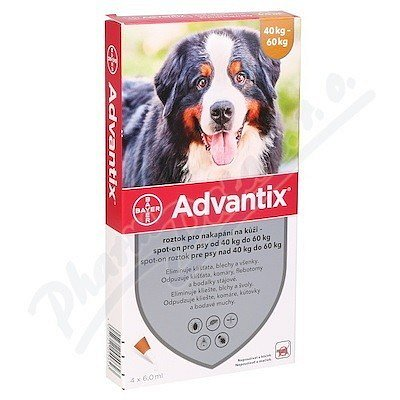 Bayer Advantix Spot On pro psy 40-60 kg 4x6ml